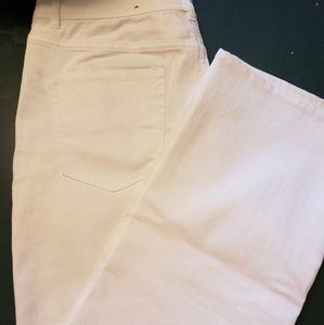 Coldwater Creek Classic Fit White Jeans